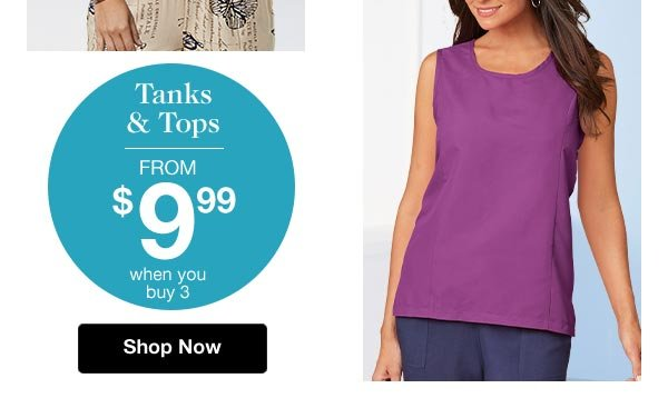 Shop Silky Soft Tanks & Tops!