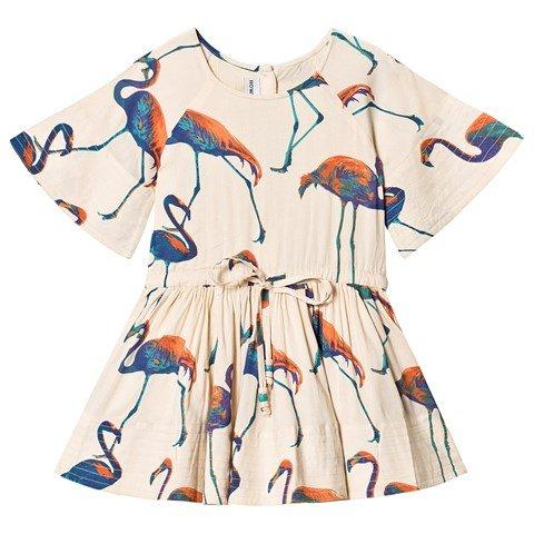 How to Kiss a Frog Off White Flamingo Cezi Dress