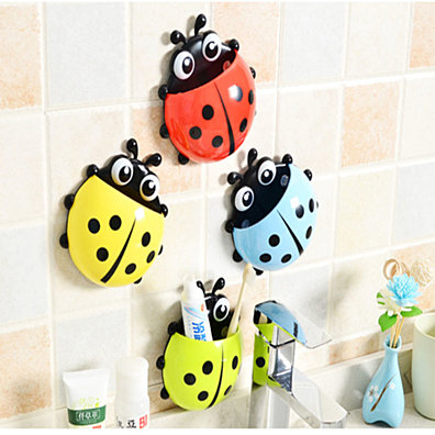 Seven-star ladybug toothbrush holder