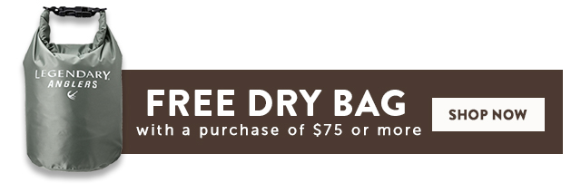 Free Dry Bag With A Purchase Of $75 Or More