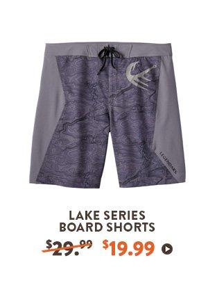 MEN'S LAKE SERIES BOARD SHORTS