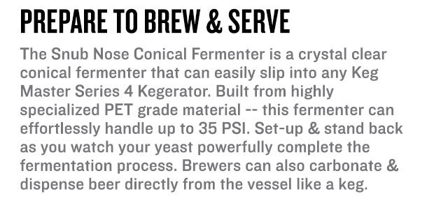 Brew & Serve from the same vessel