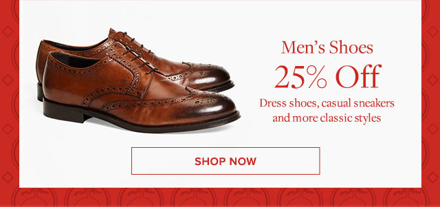 MEN'S SHOES 25% OFF - DRESS SHOES, CASUAL SNEAKERS AND MORE CLASSIC STYLES - SHOP NOW