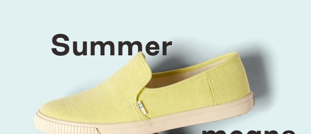 Highlighter Yellow Heritage Canvas Women's Clemente Slip-Ons