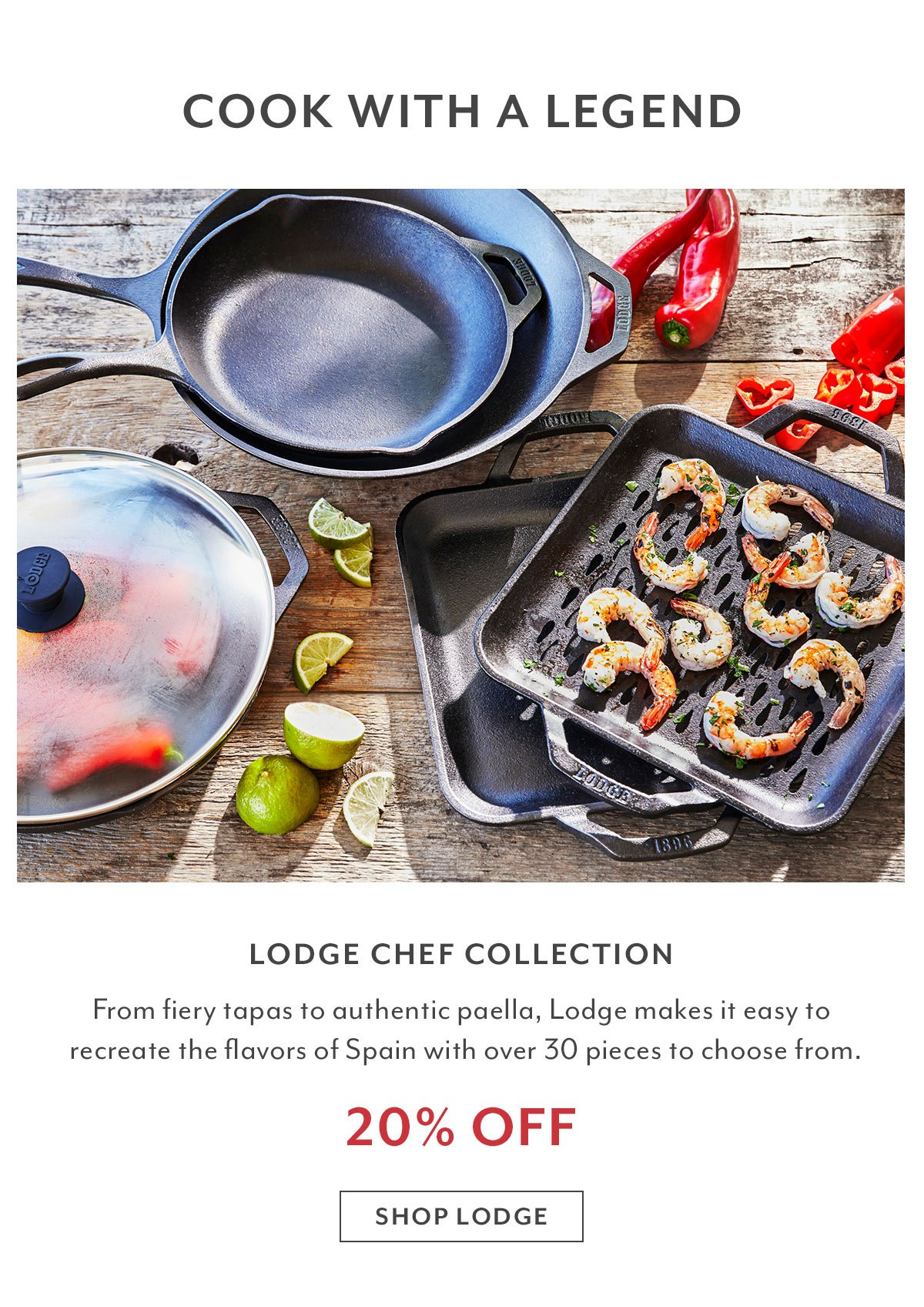 Lodge Chef Collection