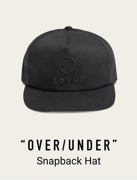 OVER UNDER SNAPBACK HAT