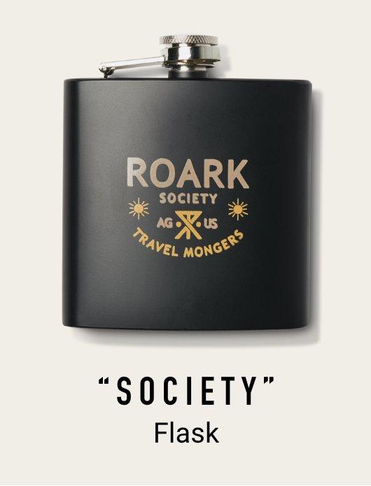 SOCIETY FLASK