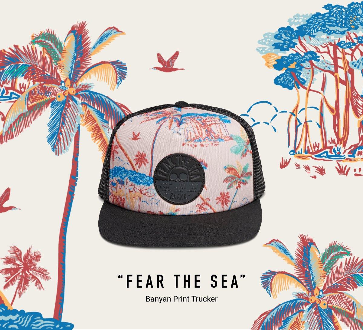 FEAR THE SEA TRUCKER HAT