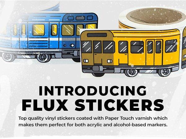 FLUX System Stickers New York