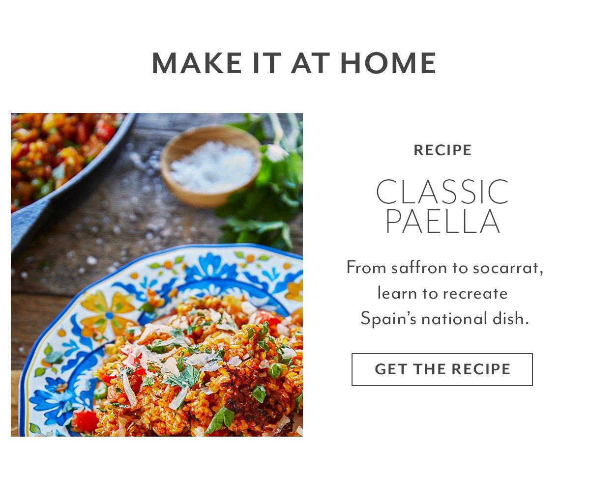 Recipe: Classic Paella