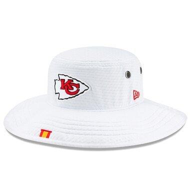 best loved 310e2 42f51 Kansas City Chiefs New Era 2019 NFL Training Camp Official Panama Bucket Hat  – White