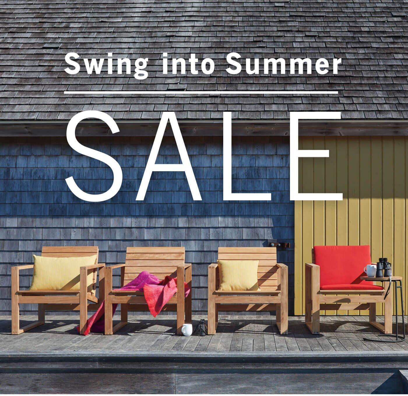 Swing Into Summer Sale