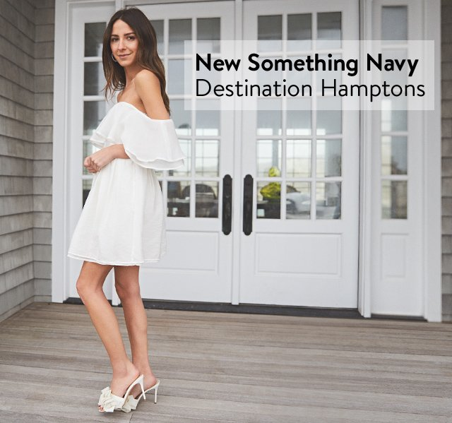 New from Something Navy: Destination Hamptons