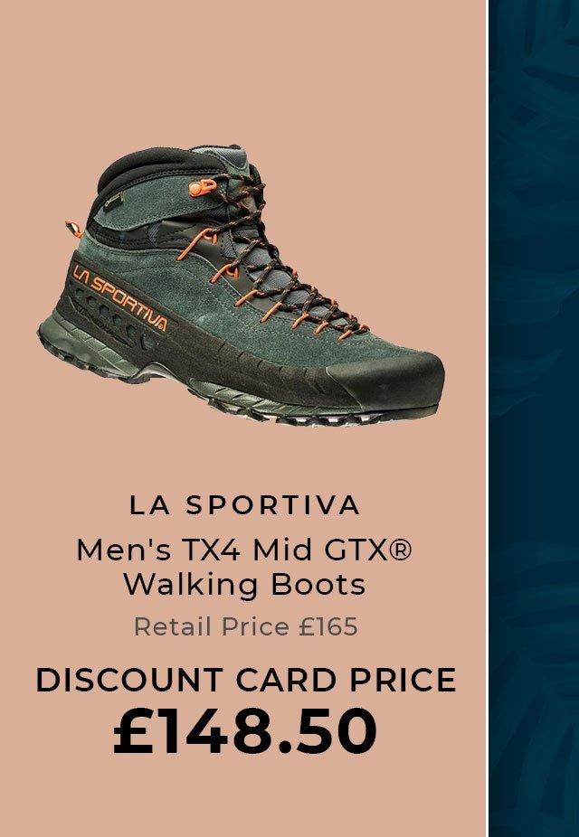 LA SPORTIVA Men's TX4 Mid GTX® Walking Boots