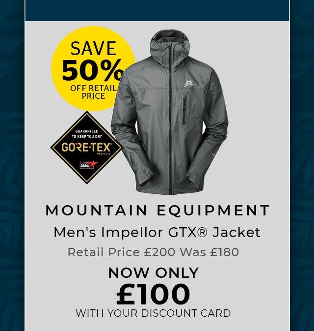 MOUNTAIN EQUIPMENT Men's Impellor GTX® Jacket