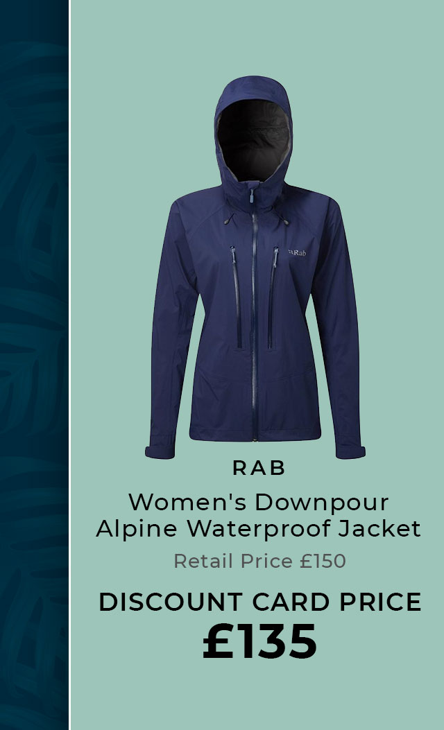 RAB Women's Downpour Alpine Waterproof Jacket