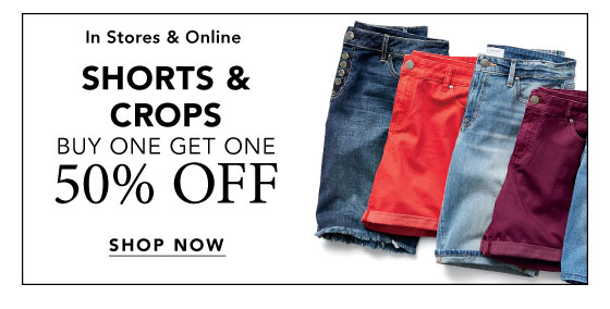 Shop Crops and Shorts