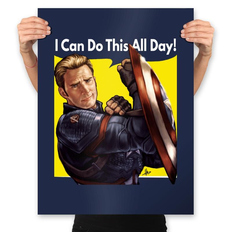 Image of Cap Can Do It! - Prints