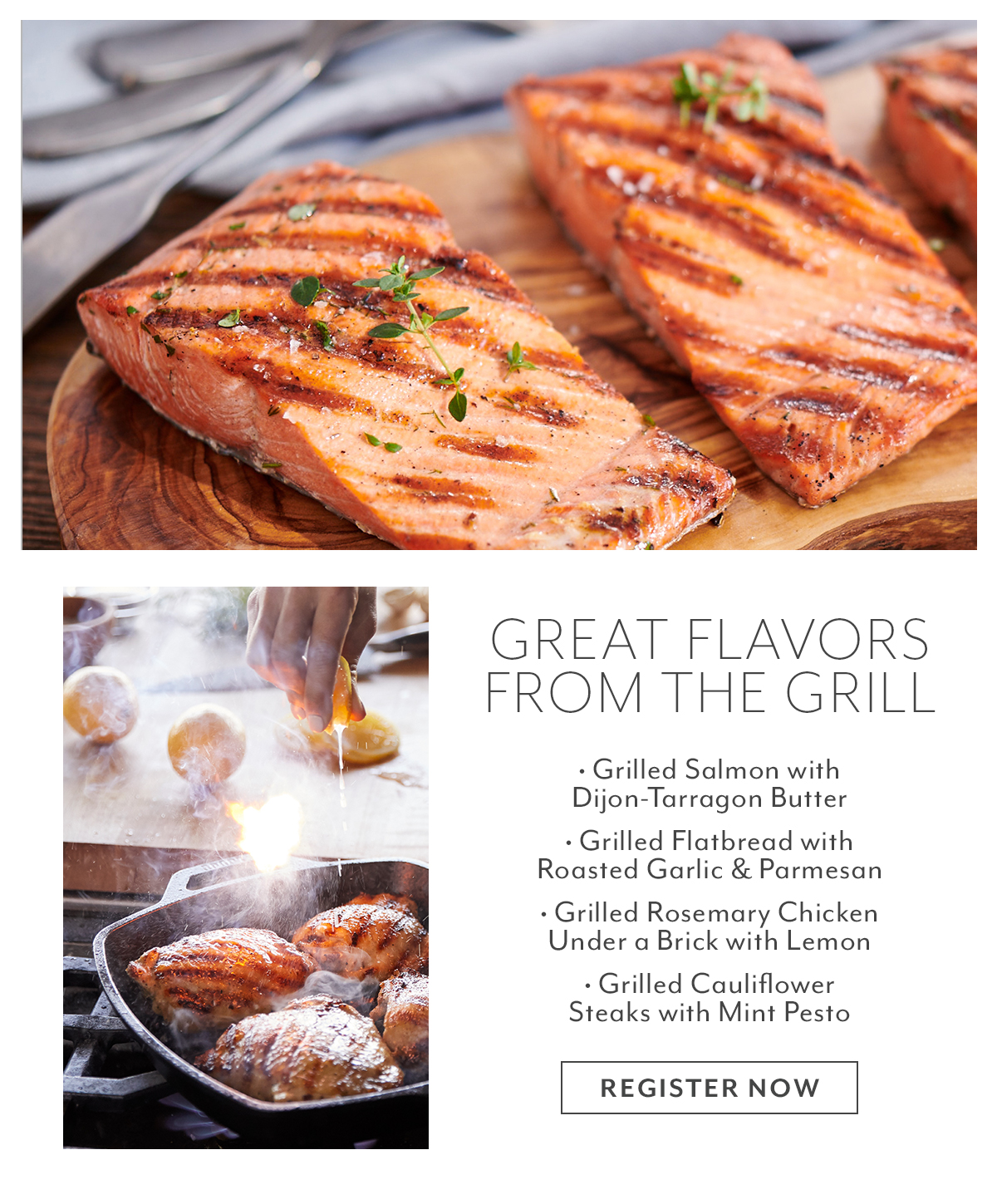 Class: Great Flavors from the Grill