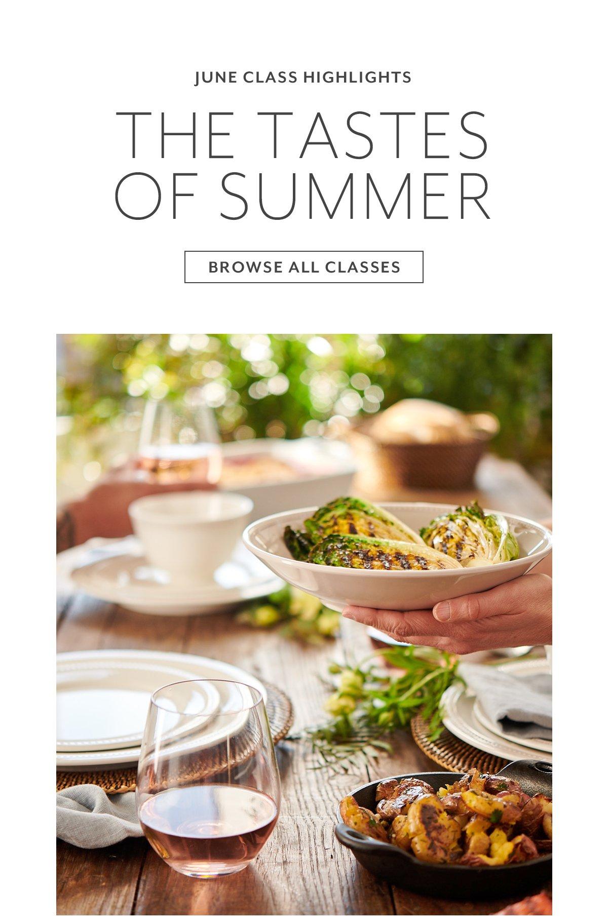 The Tastes of Summer