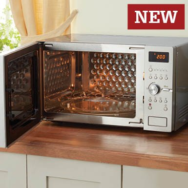 Daewoo Steam-cleaning Combi Microwave