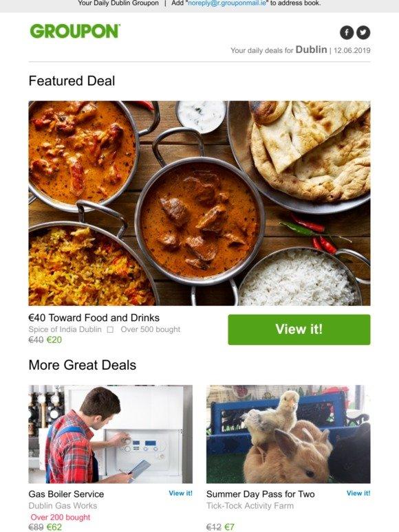 groupon food deals dublin