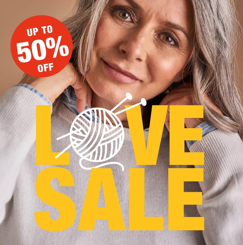50% Off Love Sale