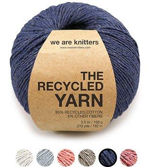 Weareknitters: New Recycled Yarn kits #begreen   Milled
