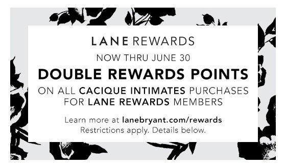 Learn about Lane Bryant Rewards