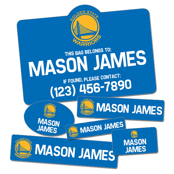 Image of Basketball Label Pack