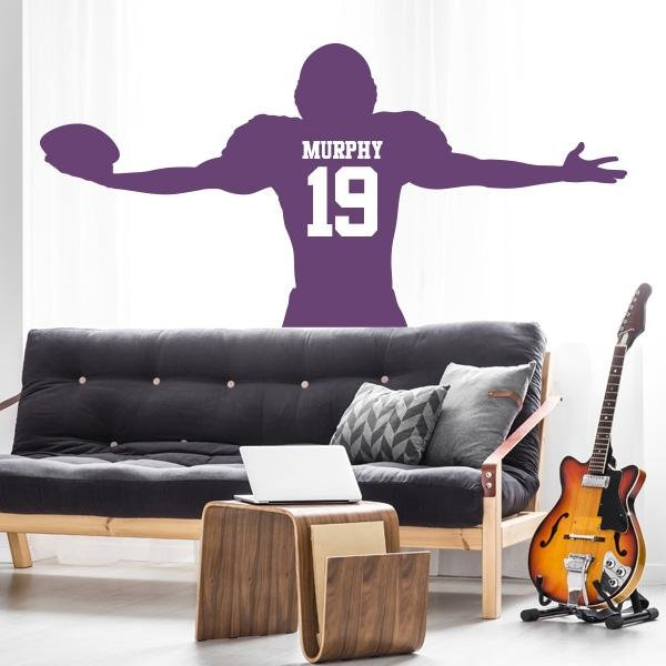 Image of Touchdown Wall Decal