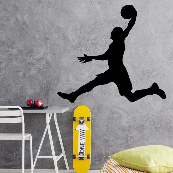 Image of Slam Dunk Wall Decal
