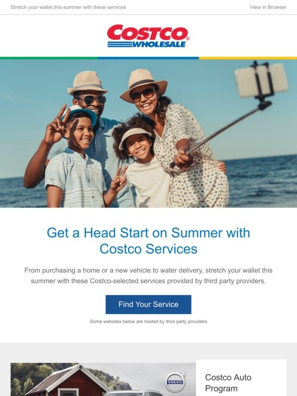 Costo: Stretch Your Summer Budget with These Costco Services