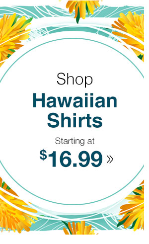 Shop Men's Hawaiian Shirts!