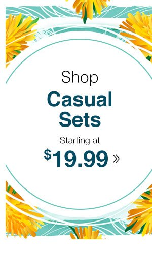 Shop Women's Casual Sets!