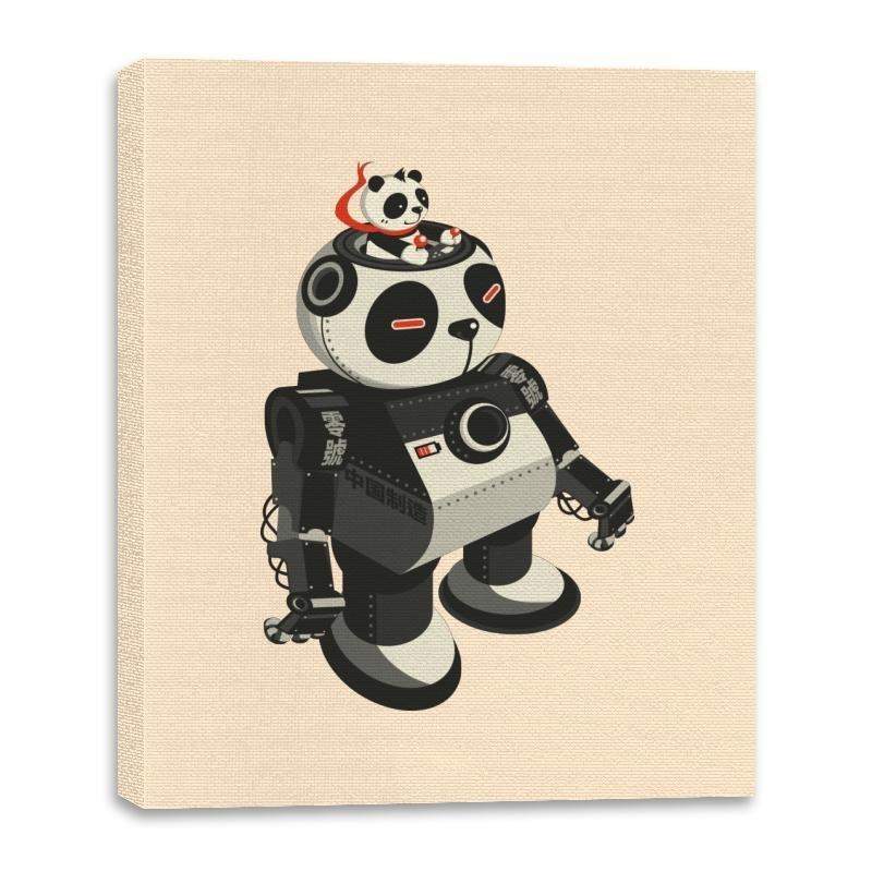 Image of Mecha Panda - Canvas Wraps