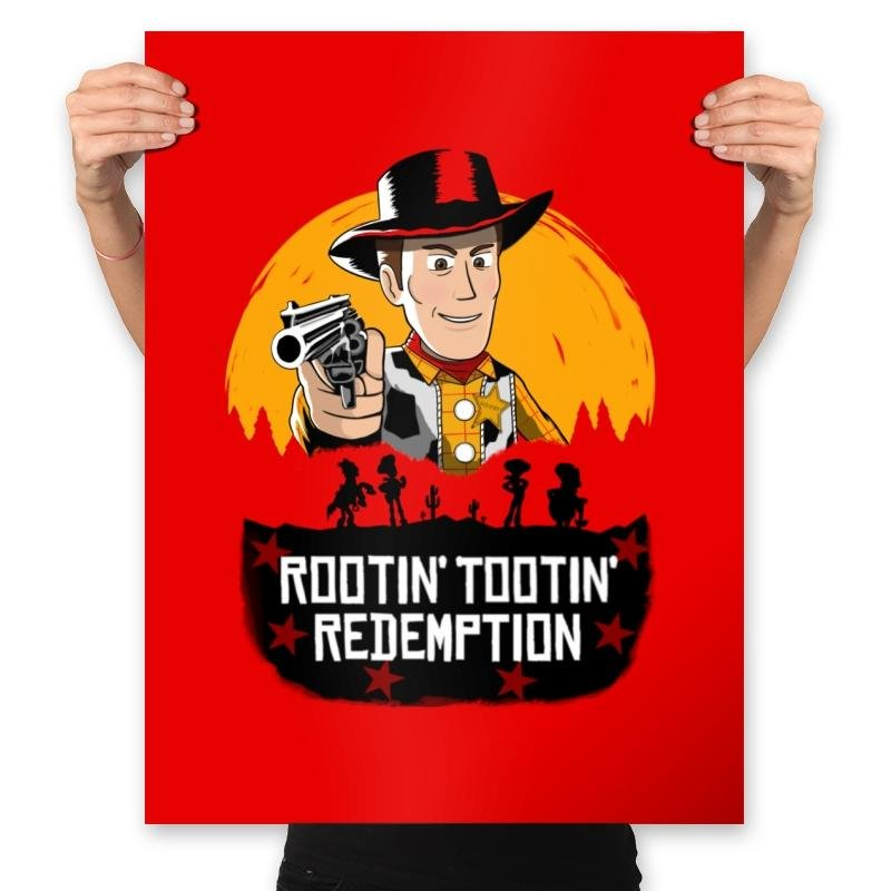 Image of Rootin' Tootin' Redemption - Prints
