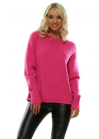 Hot Pink Classic Jumper