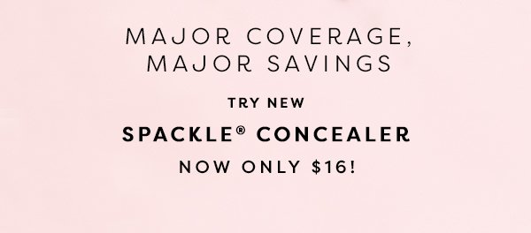 Try New Spackle Concealer