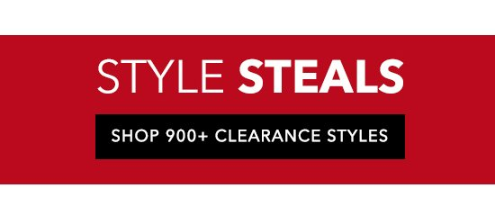 Shop 900+ Clearance Styles