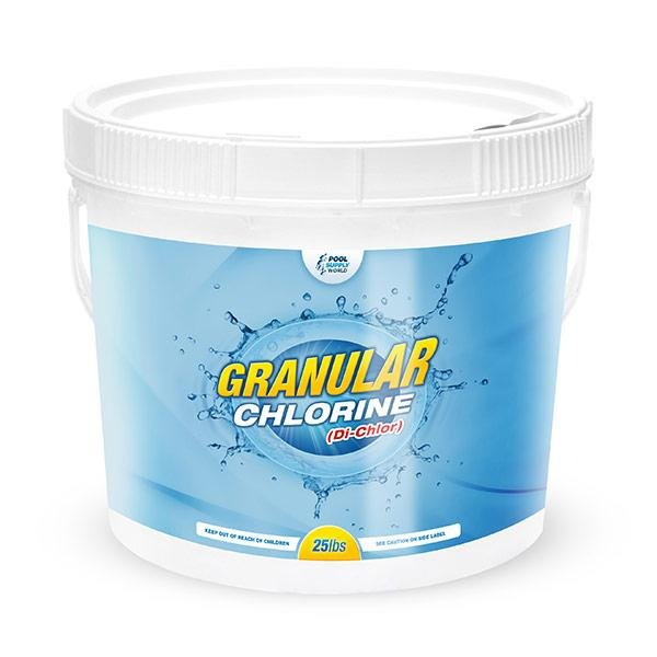 Di-Chlor Granular Stabilized Chlorine 25 lbs Bucket