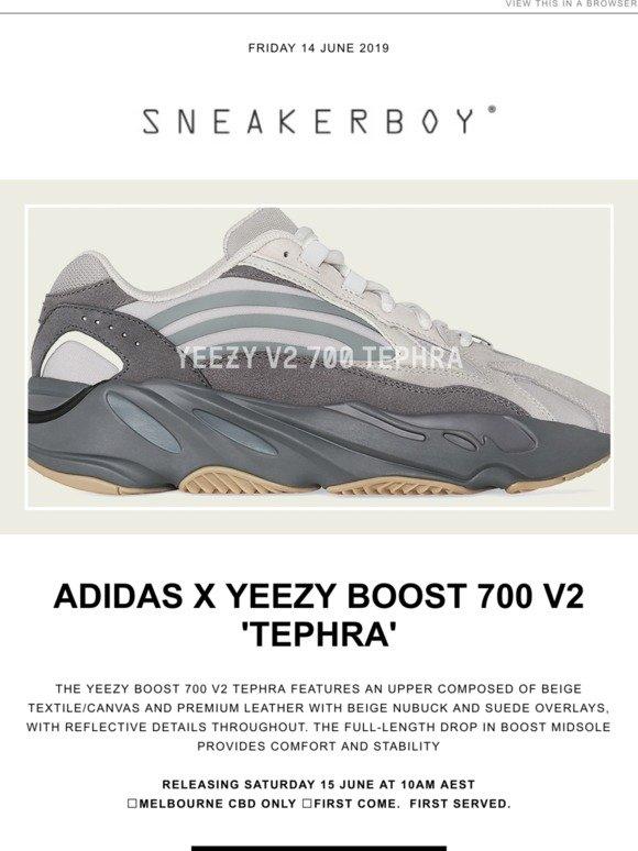 499c2861 Sneakerboy: adidas Originals x YEEZY 700 V2 'TEPHRA' | Milled