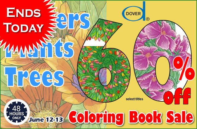Coloring Flash Sale: Save 60%