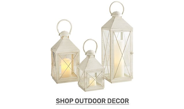 Shop outdoor decor.