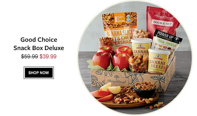 Good Choice Snack Box Deluxe