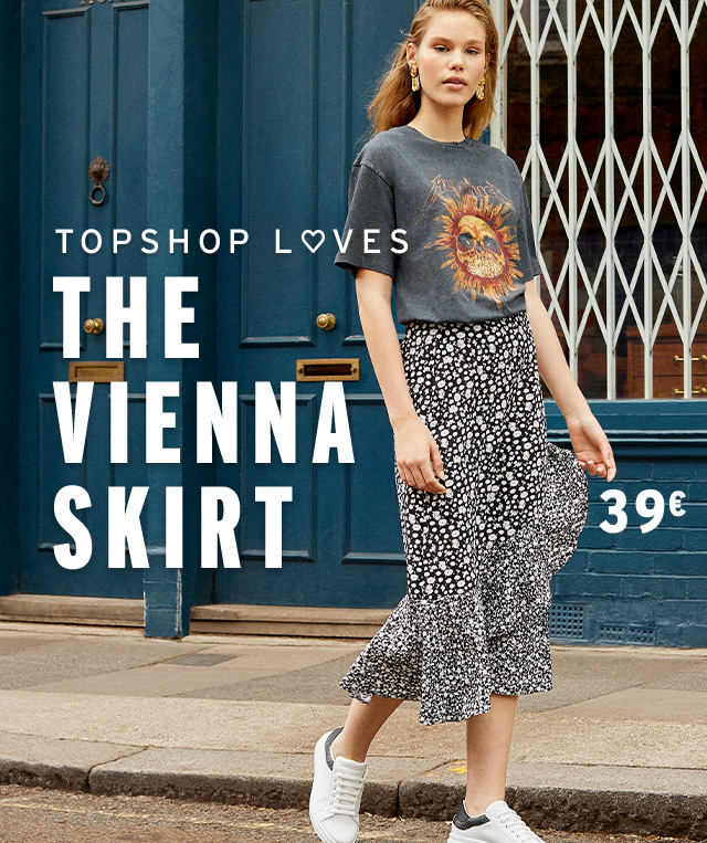 Topshop Loves: The Vienna Skirt 39€