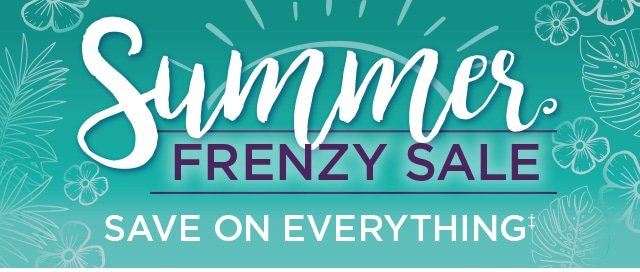 Summer Frenzy Sale - Save On Everything