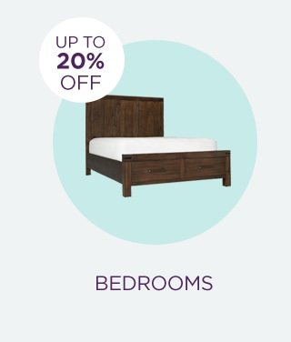 Up to 20% Off Bedrooms