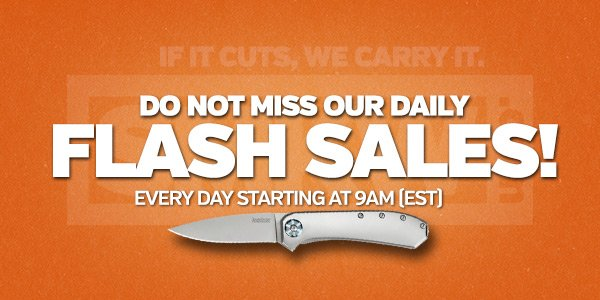 Don't miss our Daily Flash Sales!