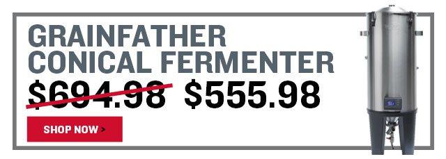 20% Off a Grainfather Conical Fermenter